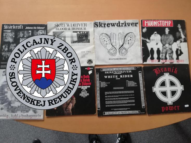 A rendőrség nyilvánosságra hozta, hogy milyen bizonyítékokat foglaltak le szélsőséges zenészeknél (FOTÓK)