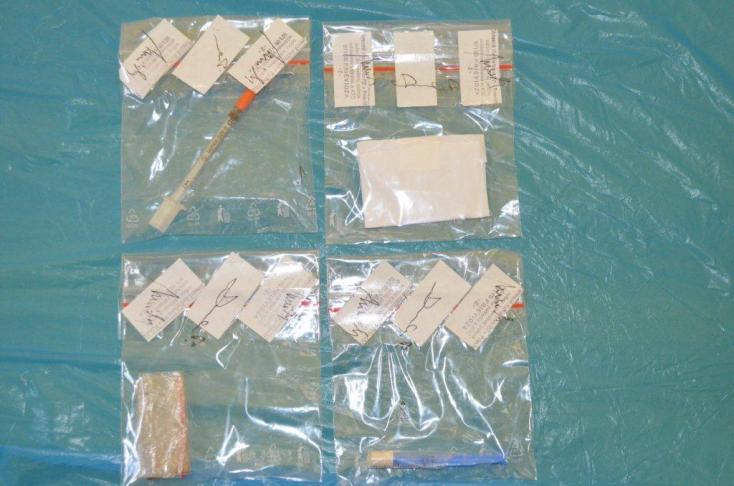 Nagy mennyiségű drogot találtak a páciensnél a kórházban