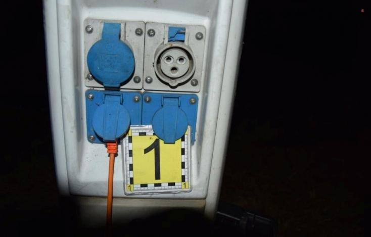 Tragédia a rekreációs övezetben: halálos áramütést szenvedett egy fiatal férfi a sátorban