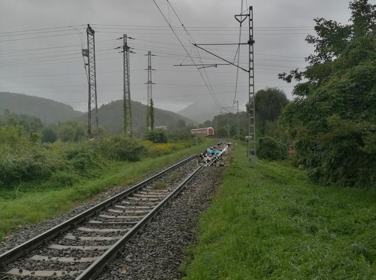 Tragikus baleset: hirtelen a sínekre lépett a fiatal férfi, a mozdonyvezető hiába fékezett