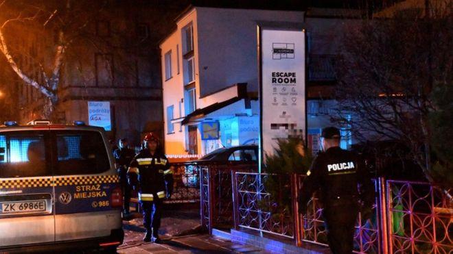 Tűz ütött ki egy lengyel szabadulószobában - öt kamaszlány meghalt!
