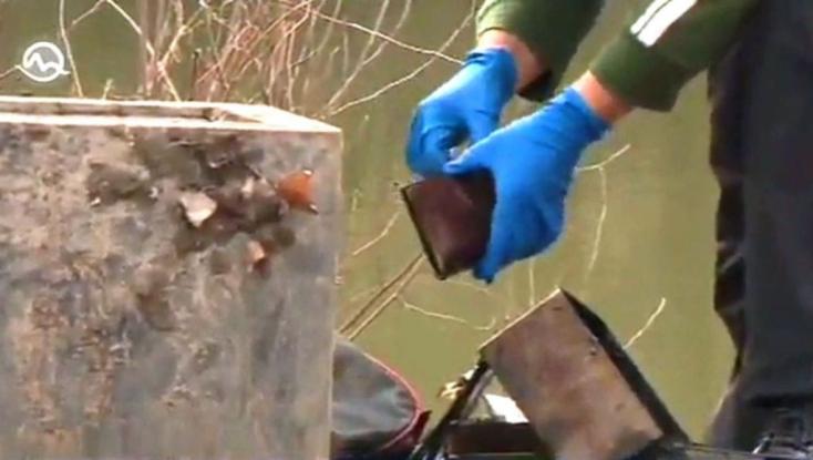 Bebetonozott hullát rejtett egy hordó Dunahidason