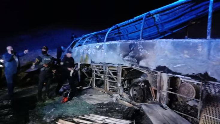 TRAGÉDIA:Legalább húszan meghaltak egy buszbalesetben Egyiptomban