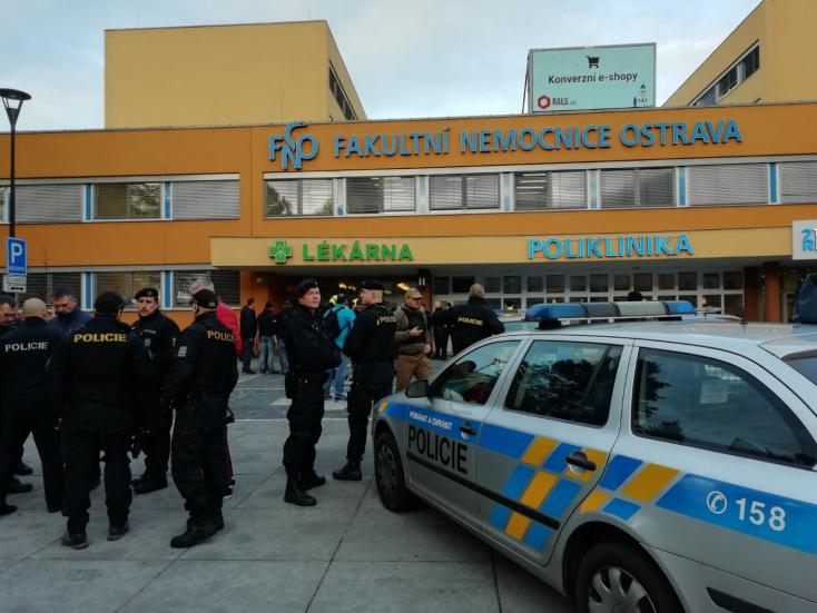 Lövöldözés volt az ostravai kórházban, többen meghaltak!