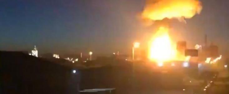 Berobbant egy vegyi üzem Spanyolországban, egy ember meghalt – VIDEÓ