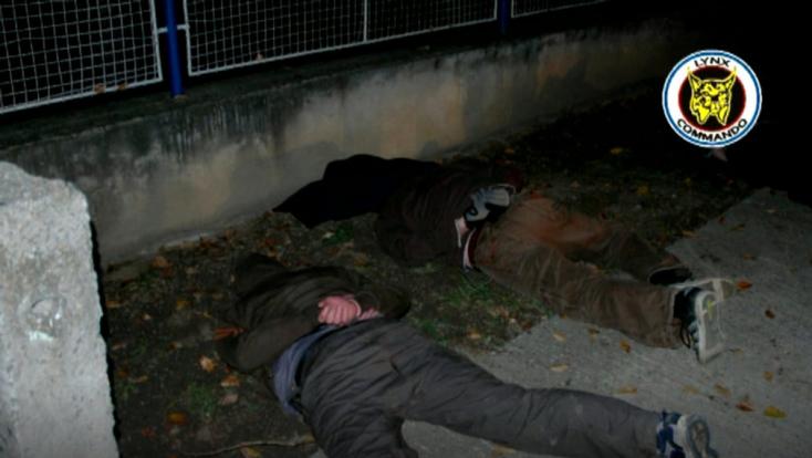 Drograzziát tartott a NAKA: nyolc személyt vettek őrizetbe