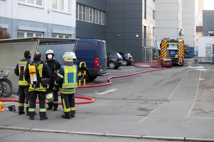Robbanás történt a Lidl németországi központjában, többen megsérültek