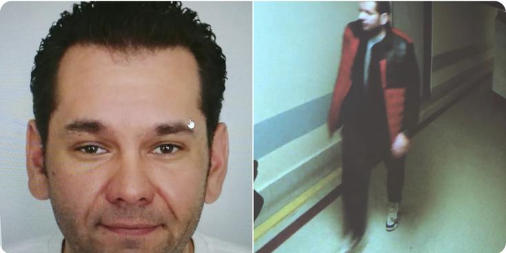 Hajtóvadászatot indított a rendőrség a férfi ellen, aki agyonlőtt hat embert az ostravai kórházban, fotót is közzétettek