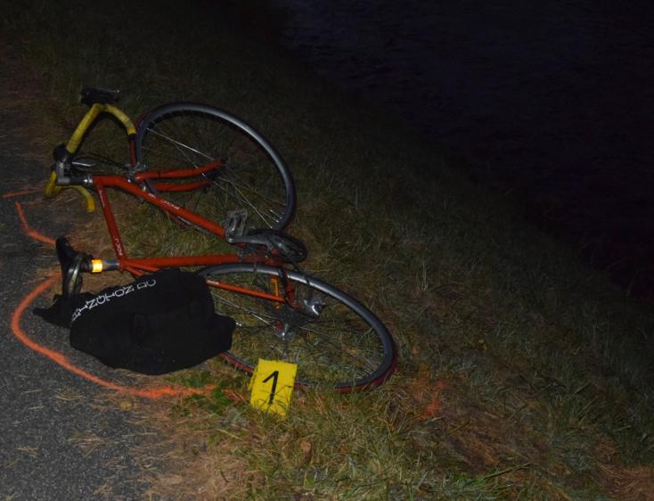 Elesett biciklijével, belehalt sérüléseibe a kerékpáros