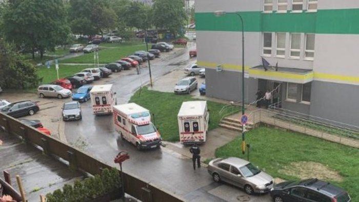 Lövöldözés Pozsonyban – a fegyveres személy elmenekült!