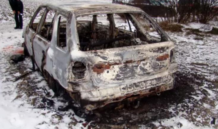 Brutális gyilkosság áldozata lehet a férfi, akit a kiégett kocsiban találtak