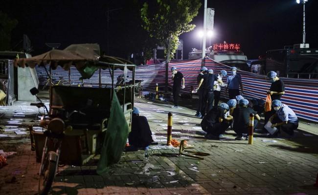 Pokolgépes merénylet volt a kínai óvoda melletti robbanás, a merénylő is meghalt