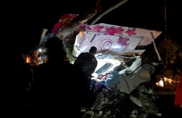 Ejtőernyősökkel a fedélzetén lezuhant egy gép Tatárföldön, 16-an meghaltak