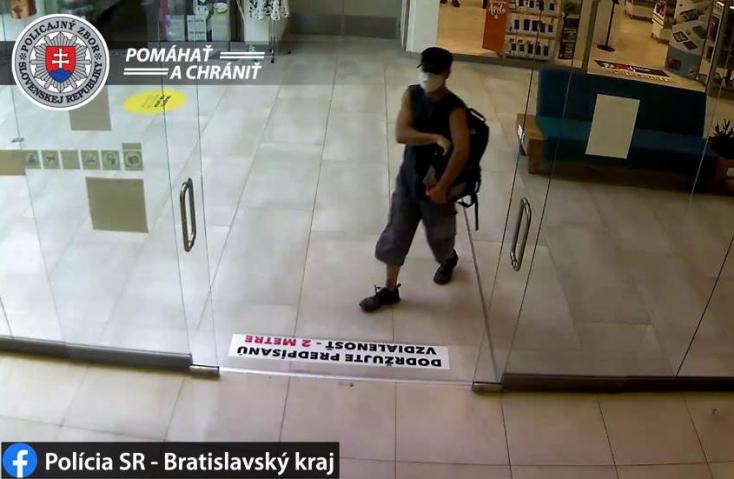 Fegyverrel hatolt be a bankba a tolvaj, segítsen megtalálni! (FOTÓ)