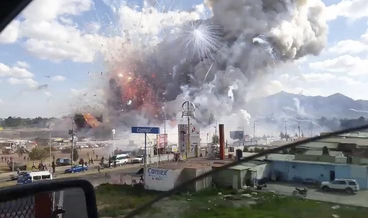 Felrobbant a tűzijátékpiac, legalább 29 halott