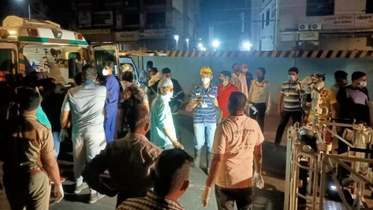 TRAGÉDIA: Kigyulladt egy koronavírusos betegeket ellátó kórház, sokan meghaltak