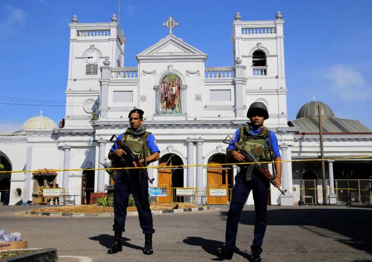 SRÍ LANKA: Hét öngyilkos merénylő robbanthatott