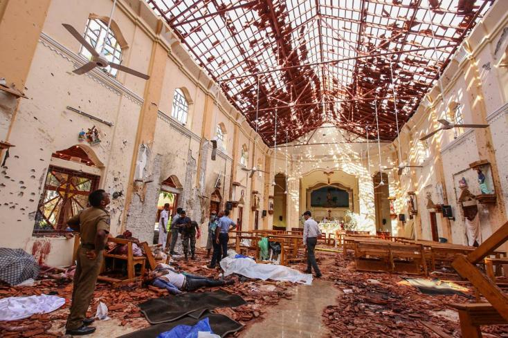 Helyi iszlamisták robbantottak húsvétvasárnap Srí Lankán!