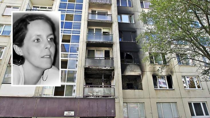 Tűz ütött ki a lakásban, az erkélyről kiugorva menekült az égő asszony